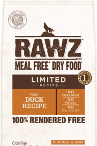 RAWZ Meal Free Limited Ingredient Duck Dry Dog Food
