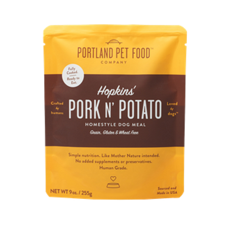 Portland Pet Food Hopkins' Pork N' Potato Grain Free Dog Meal