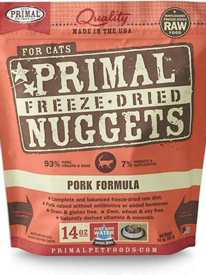 Primal Cat Freeze-Dried Pork Nuggets