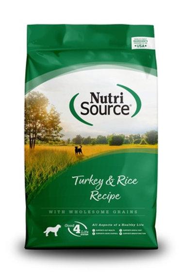 NutriSource Turkey & Rice Dry Dog Food
