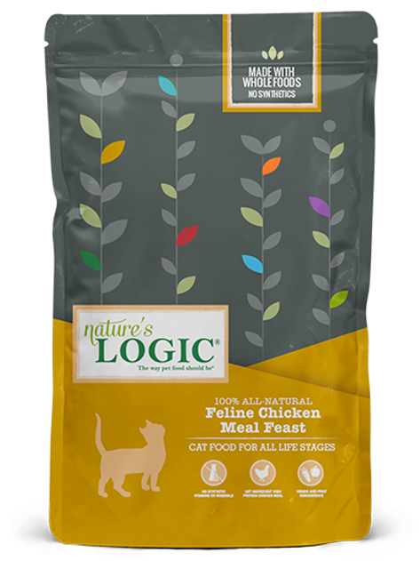 Nature's Logic Chicken Dry Cat Food