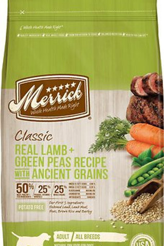 Merrick Classic Lamb + Green Peas with Ancient Grains Dry Dog Food