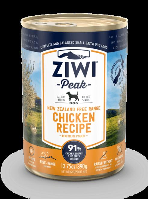 Ziwi Peak Dog Chicken Recipe Canned Dog Food, 13.75-oz, case of 12