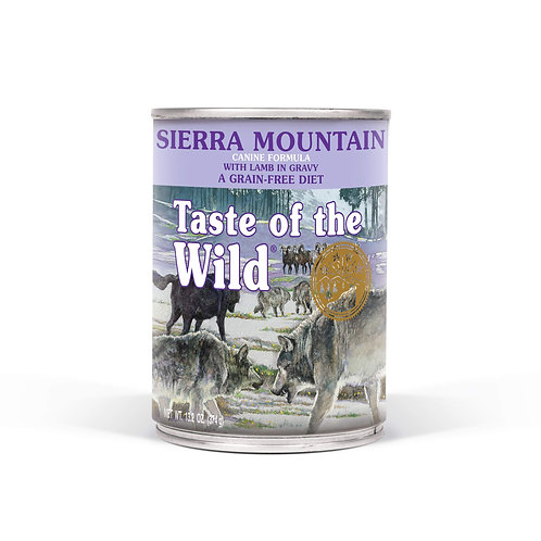 Taste of the Wild Sierra Mountain Canned Dog Food, 13.2-oz, case of 12