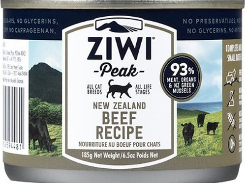 Ziwi Peak Cat Beef Recipe Canned Cat Food, 6.5-oz, case of 12