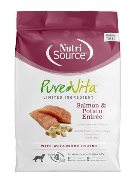 PureVita Salmon & Potato Formula Dry Dog Food