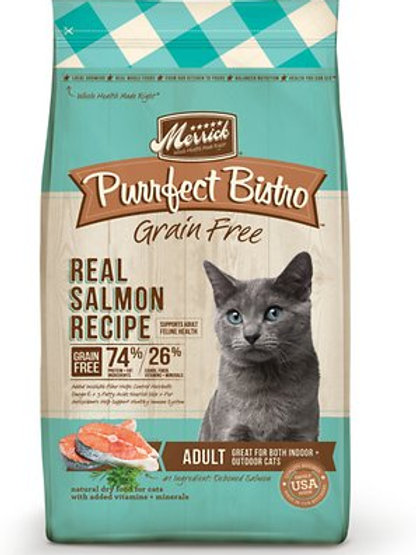 Merrick Purrfect Bistro Grain-Free Salmon Adult Dry Cat Food