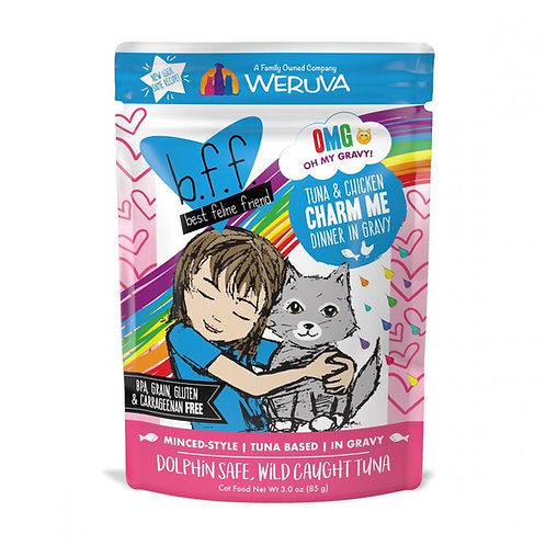 BFF Charm Me Tuna & Chicken Dinner Wet Cat Food, 3oz, pack of 12