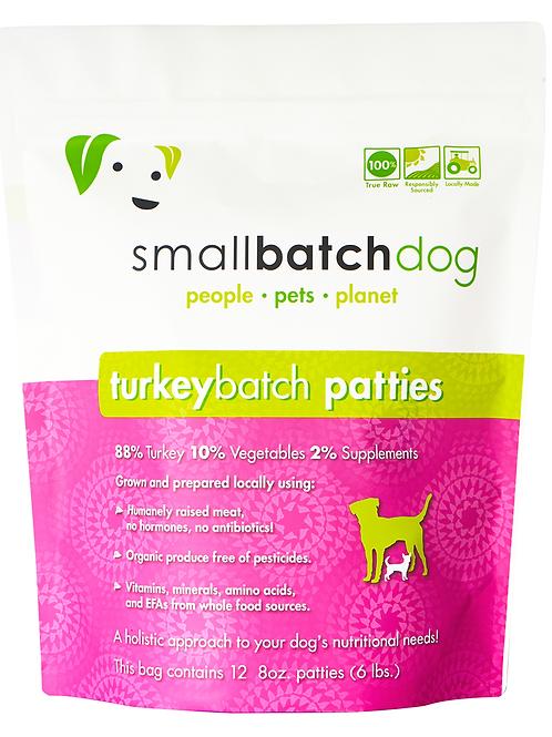 SmallBatch Frozen Turkey Patties