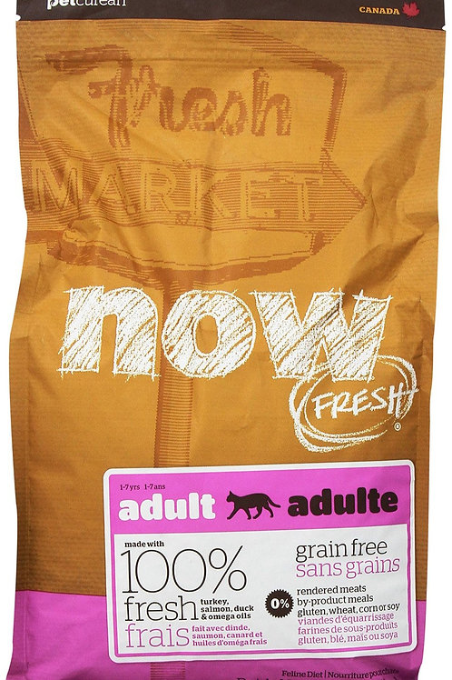 Petcurean Now Grain Free Adult Dry Cat Food