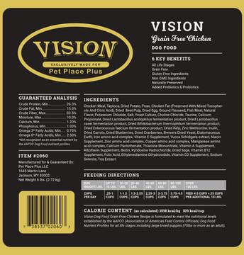 Vision Grain Free Chicken