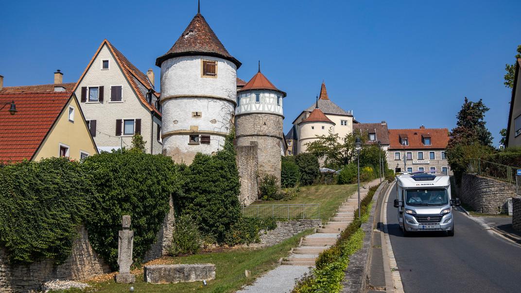 2019-08 FWL Holger Leue Stadtmauer Turm