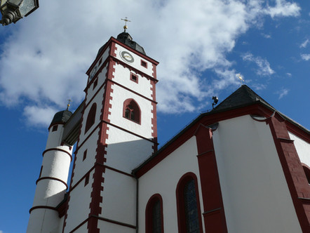 Stadtpfarrkirche Dettelbach Außenansicht