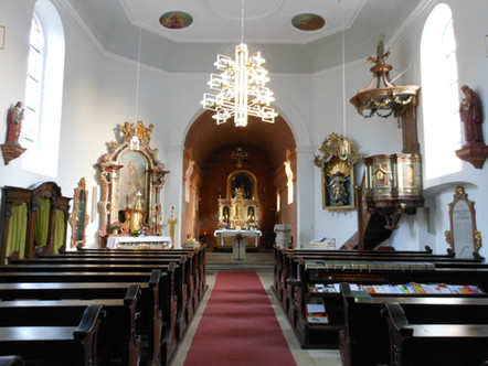 Sonja Will Lorettokirche Innen gesamtans