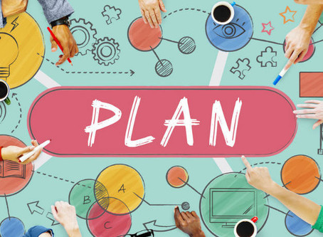 Plan your changes and change your plans