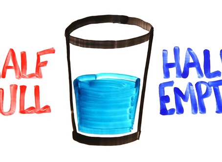 How full or empty is your glass?