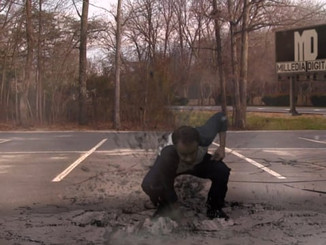 Punching Concrete