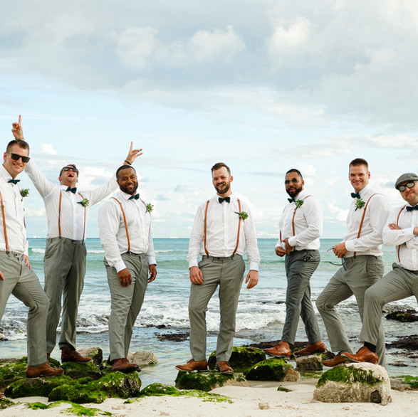 Playa Del Carmen Beach Wedding