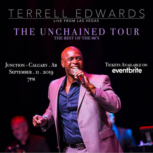 Terrell Edwards Unchained Tour Campaign