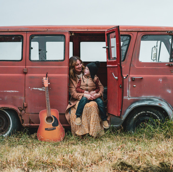 The Little Hippie Van Photoshoot