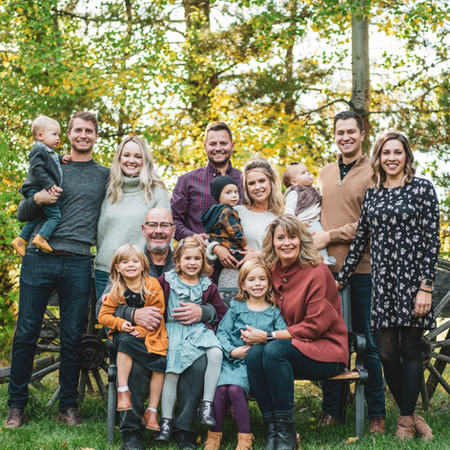Fall Family Acerage Photoshoot
