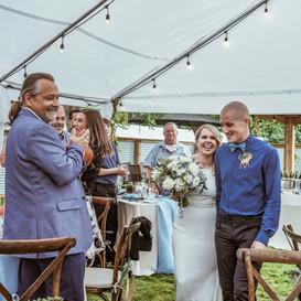 Goldbar Backyard Wedding
