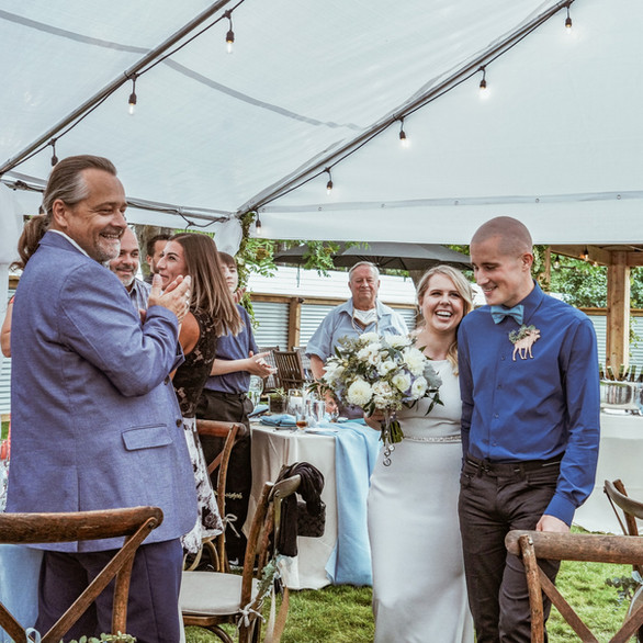 Goldbar Backyard Wedding