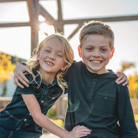 Golden Hour Family Shoot