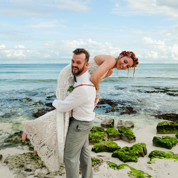Playa Del Carmen Wedding Shoot