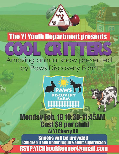 Cool Critters Youth Event