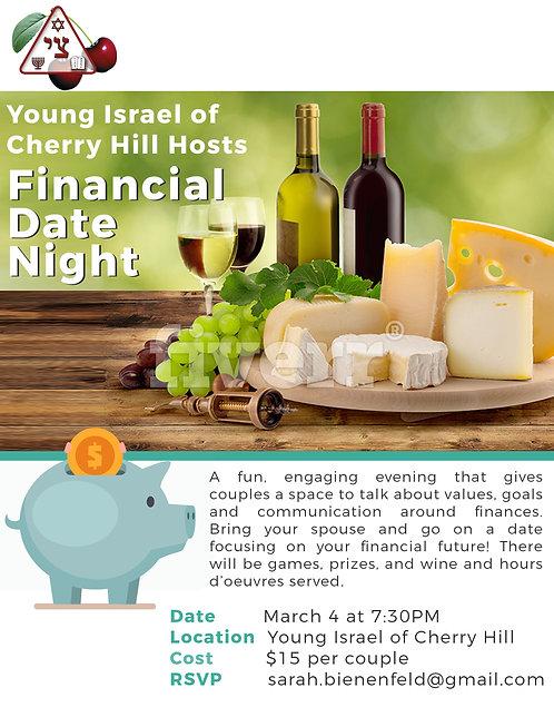Financial Date Night- Price per couple