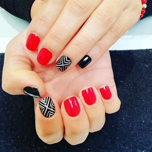 Hermosa manicure...