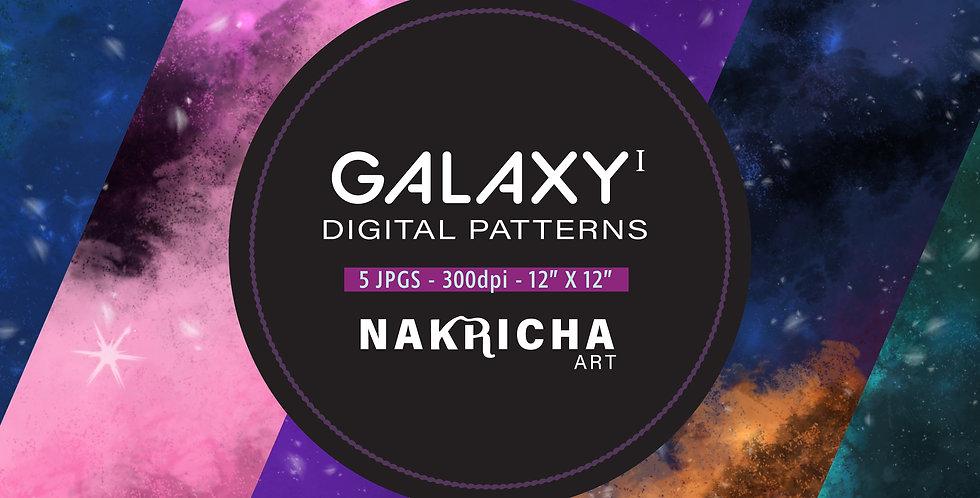 Galaxy Digital Paper Pack