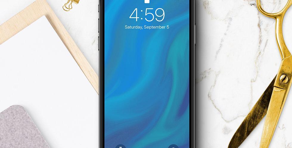 Ocean Drift Phone Wallpaper