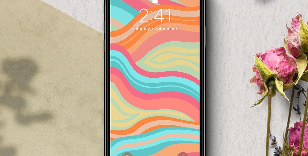 Sherbert Phone Wallpaper