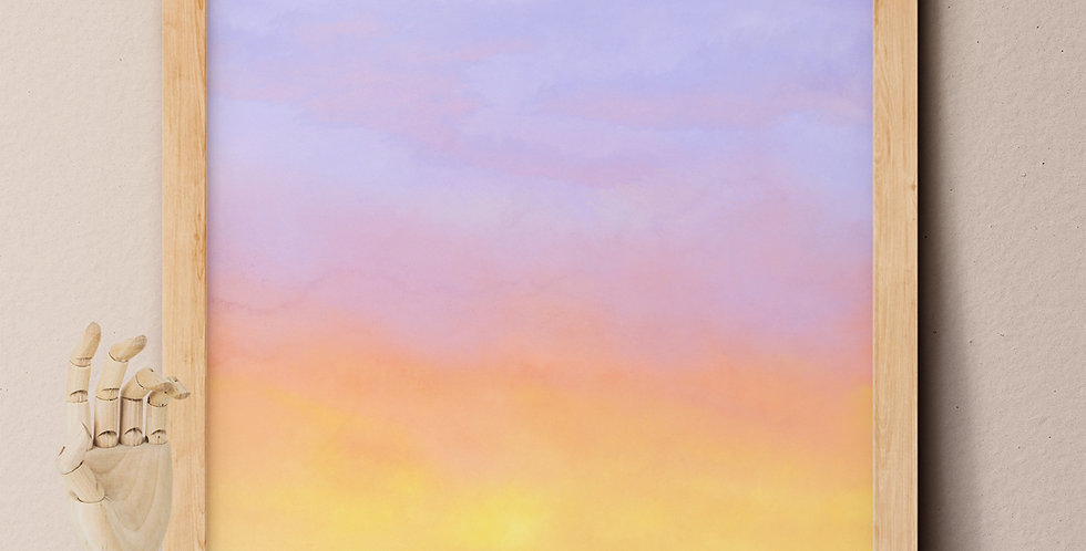 Sunset Printable Wall Art