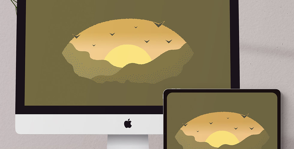 Sunset Desktop & Tablet Wallpaper