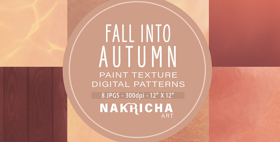 Fall Into Autumn Digital Paper Pack