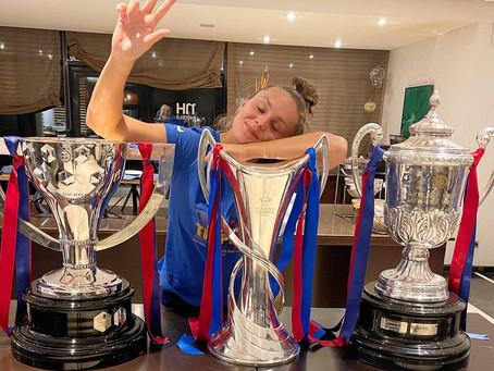 Barca Women complete the historic treble 20/21