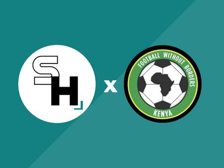 Partnership announcement: Football Without Borders Kenya