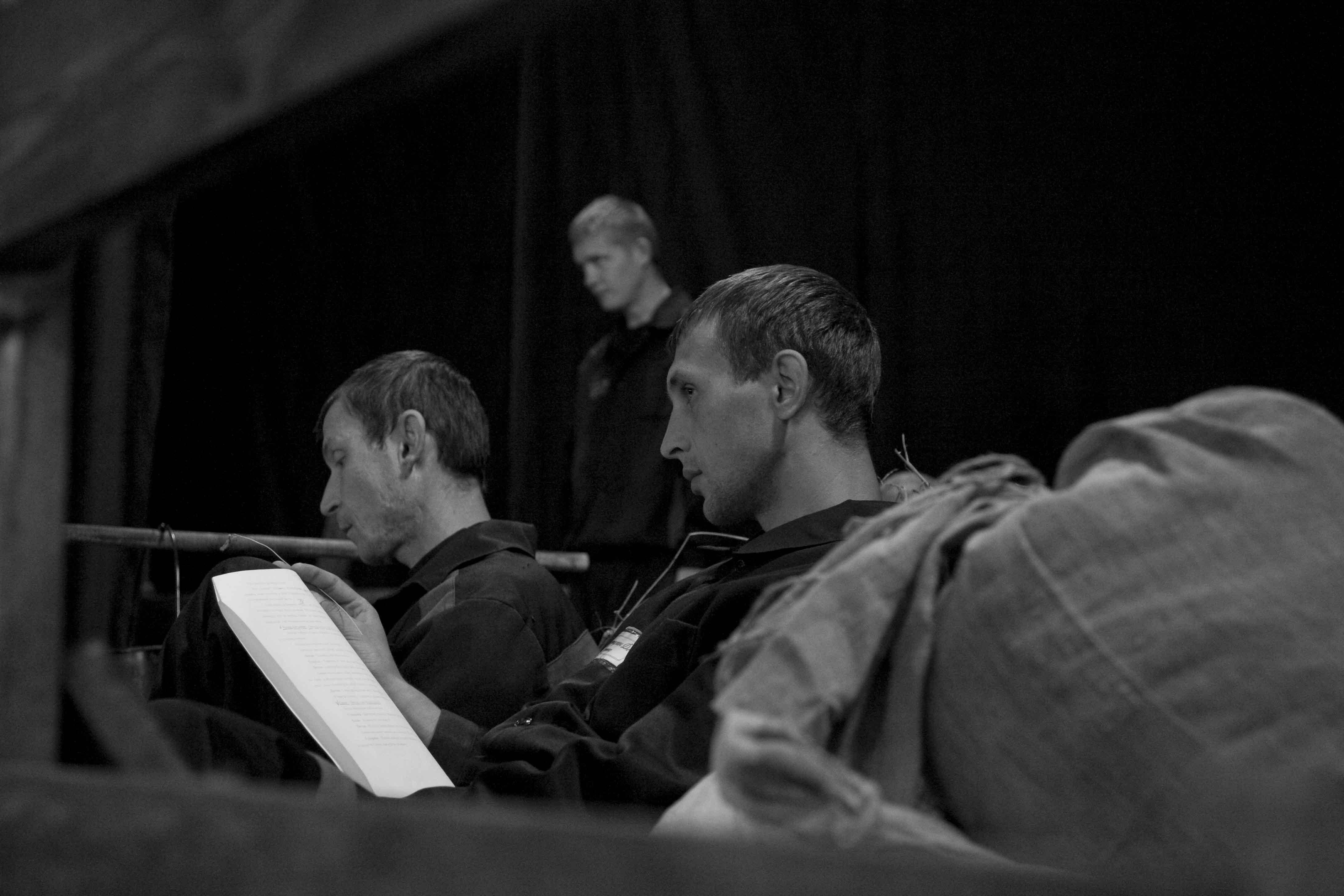 249 Cossacks Rehearsal