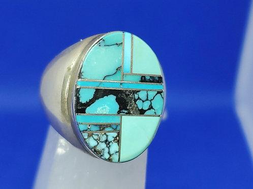 Zuni Ring by Wilbert Grey