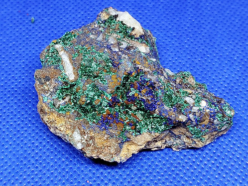 Azurite and Brochanite Raw