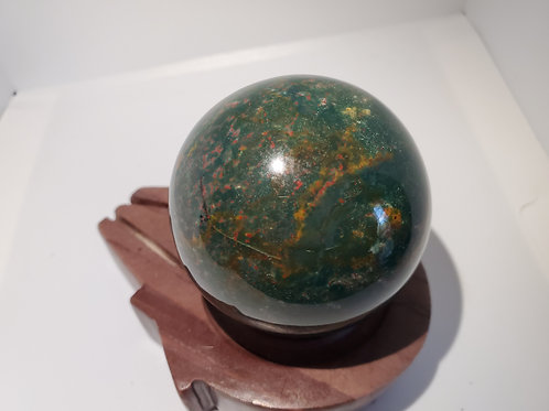Bloodstone Sphere 50MM