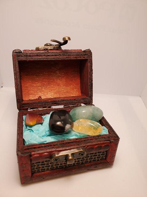 Calming Serenity Set with Treasure Box