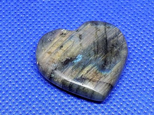 Labadorite Heart