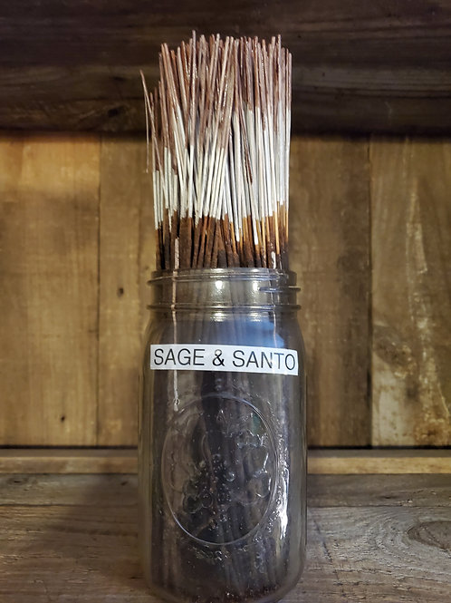 Sage and Santo Incense