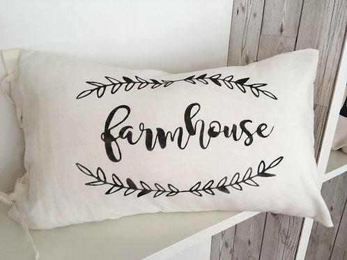 Farmhouse cushion