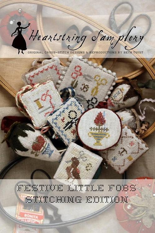 Festive fobs stitching edition-Heartstring Samler