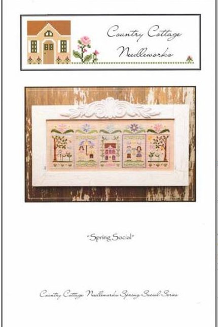 Spring Social - Country Cottage Needleworks